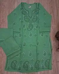 Ladies Cotton Round Neck Salwar Suit
