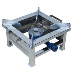 Kartik Industries Silver Canteen Gas Stove, Size: 10*10*6, For Coocking