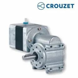 90 Degree Crouzet 80w Brushless DC Worm Geared Motor, Voltage: 24 VDC