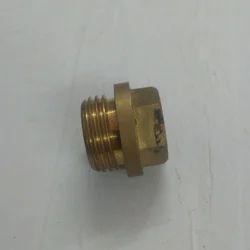 Golden Hexagonal Hex Plug