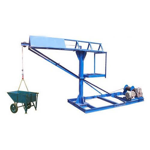 Mini Crane Lifting Machine, Capacity: 300 Kg