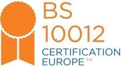 BS 10012 Certificatation