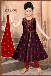 Kids Designer Cotton Dress