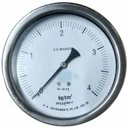 Stainless Steel Bourdon Pressure Gauge