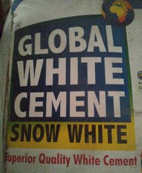 A+ Global White Cement, 25 kg