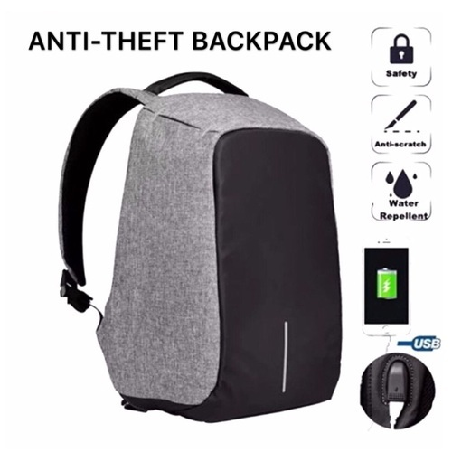 3abdd0f1a8df Anti Theft Smart School College Travel Backpack Safe Bag Usb Charging Laptop