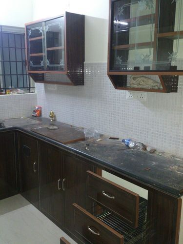 Modular Kitchen - PVC Modular Kitchen Wholesale Trader from