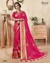 Royal Bl.ue  Ethnic Plain Saree