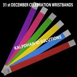 KIS Red & Yellow Paper Celebration Wristband