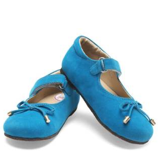 Glitz Sky Blue Baby Girl Shoes at Rs 849