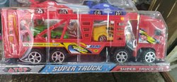Red Plastic Car Truck