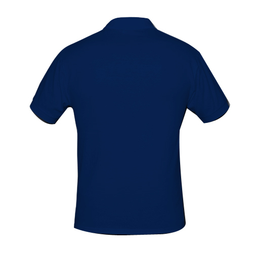 Blue Small And XL Royal Men' s Polo T Shirt 240 Gsm Bio-washed