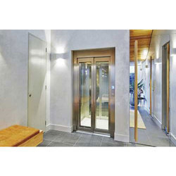 Glass And Stainless Steel Automatic Elevator Door, For Office Building