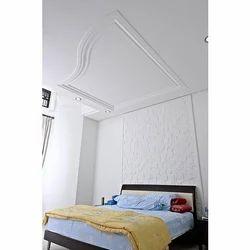 Plain White Gypsum Wall Panel