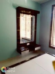 Wooden Wall Dressing Table