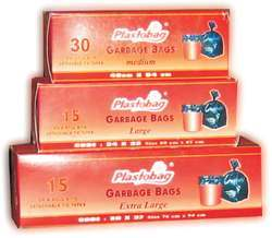 Plastobag Printed Garbage Bags On Roll