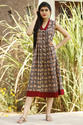 Cotton Discharge Designer Wear Kurti