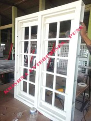 French Window With Grill