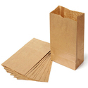 Kraft Paper Grocery Bag