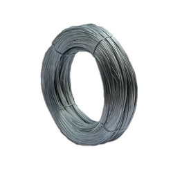 National Wire Iron Hot Dip GI Wire, Thickness: 1-2mm