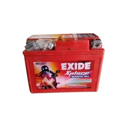 Exide Bike Battery, For Automotive, Acid Lead Battery