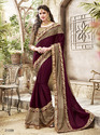Fabric Chinon Saree
