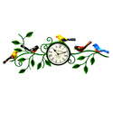 Iron Painted Five Bird Watch Panel