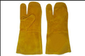 Yellow Unisex Mitten Gloves Nms333.35. (hrg)