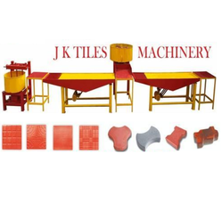 Interlocking Blocks Making Machine