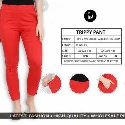 Cotton Stretchable Pants