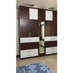 Inter Spaze Plywood Modern Wooden Almirah, Warranty: 5 Years