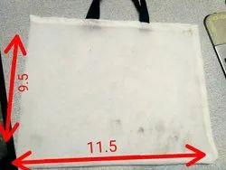 White Plain Vegetable Clothing Bag, Size/Dimension: 10x12 Inch