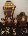 Wedding Bridal Necklace Set, Size: 25 Cm, Packaging Type: Box