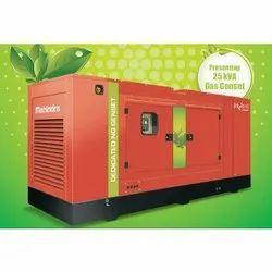 25 kVA Mahindra Powerol Gas Generator