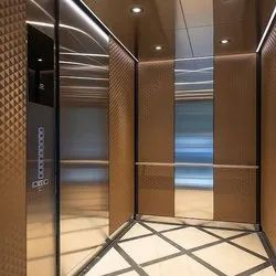 Opera Stainless Steel SS Automatic Door Elevator, Max Persons: 26 Persons, Without Machine Room