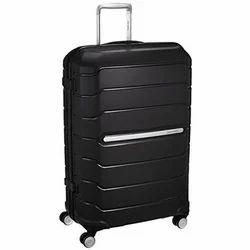 Samsonite Black Zipper Hard Trolley Bag 55 CM