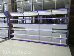 Glass Shelving Rack