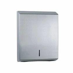 Stainless Steel M & C Fold Tissue Dispenser