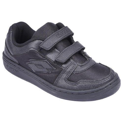 Lotto School Uniform Shoes Black Velcro ff8df0931