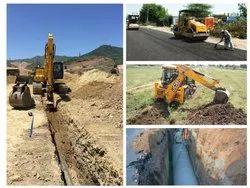 Pipeline & Road Work, Hyderabad