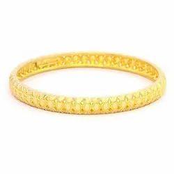Designer Gold Bangle, Packaging Type: Box, Size: 2.4