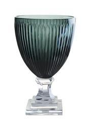 Glass Crystal V Vase