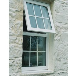 White UPVC Outward Opening Casement Windows, Glass Thickness: 5-7 Mm, Size/Dimension: 2x4 Feet