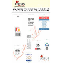 Paper Taffeta Labels