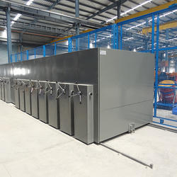 Metsto Painted Industrial Mobile Storage Rack