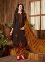 Punjabi Style Casual Wear Patiala Suits Collection