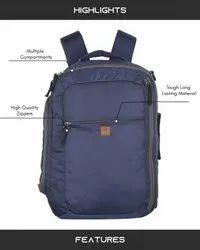 Two-in-One-Blue Laptop Bag