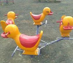 Duck model animal shape merry go round