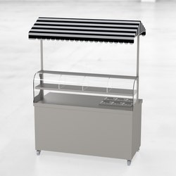 Stainless Steel Grey Chat Counter