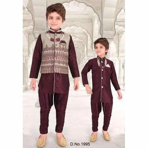 711656bc Boys Designer Indo Western Set at Rs 895 /set   Child Indo western ...